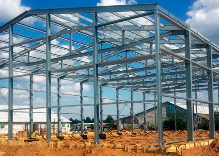 Строительство склада в Запорожье