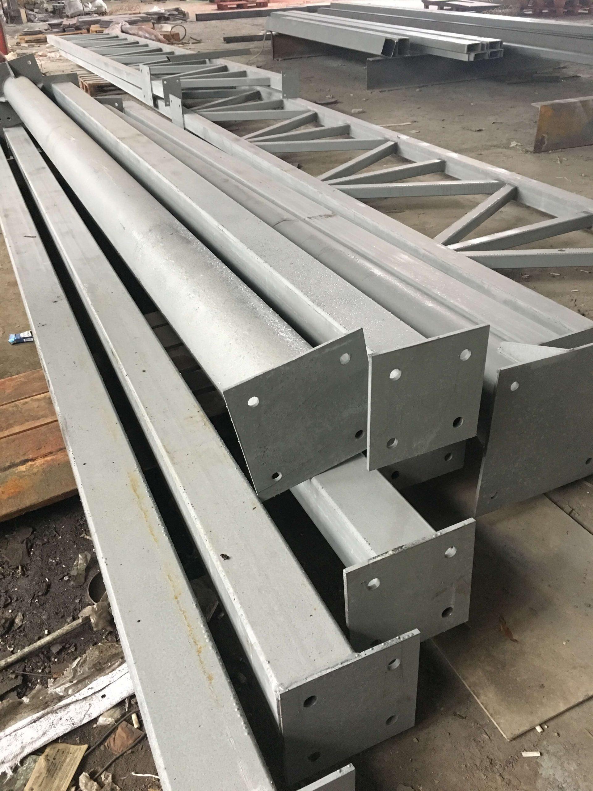 Изготовление и монтаж металлоконструкций в Запорожье
